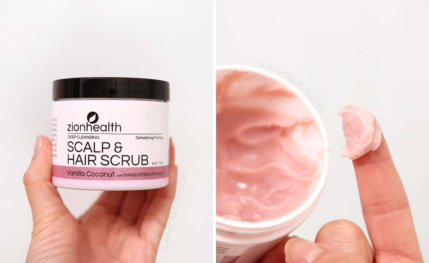 Zion Health Deep Cleansing Scalp Scrub | Scalp Care Routine for Dandruff, Smelly Hair and Dry Scalp | Slashed Beauty