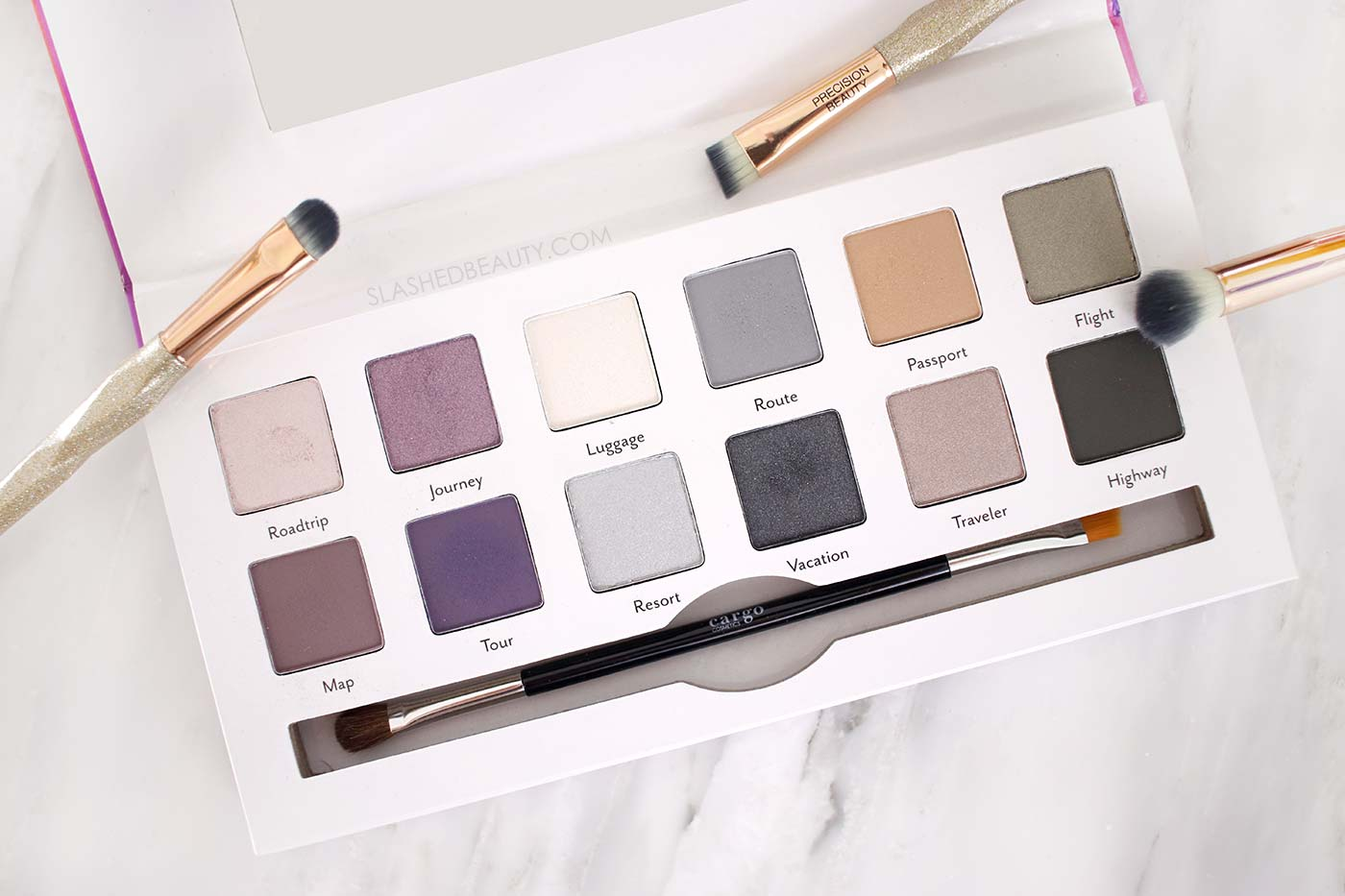 Cargo Getaway Eye Shadow Palette | 2021 Essentials Giveaway: Masks, Makeup & Amazon Gift Card! | Slashed Beauty