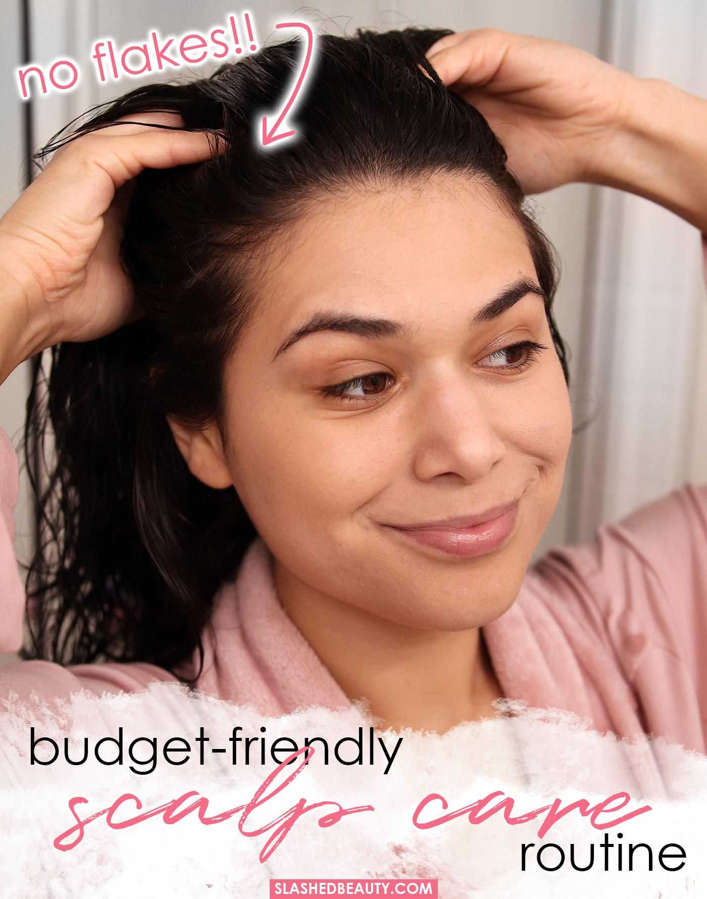 Budget Friendly Scalp Care Routine for Dandruff, Smelly Hair and Dry Scalp | Slashed Beauty