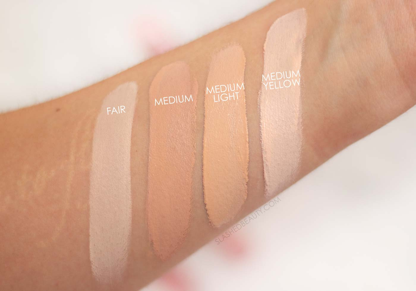 REVIEW: Makeup Revolution Eye Bright Concealer Swatches in Fair and Medium Light | Slashed Beauty