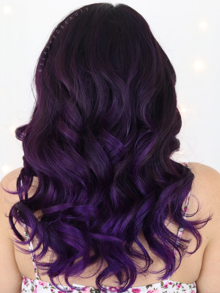 See an Arctic Fox Purple Rain Before and After, plus my full review and thoughts on Arctic Fox vs Overtone.   Slashed Beauty