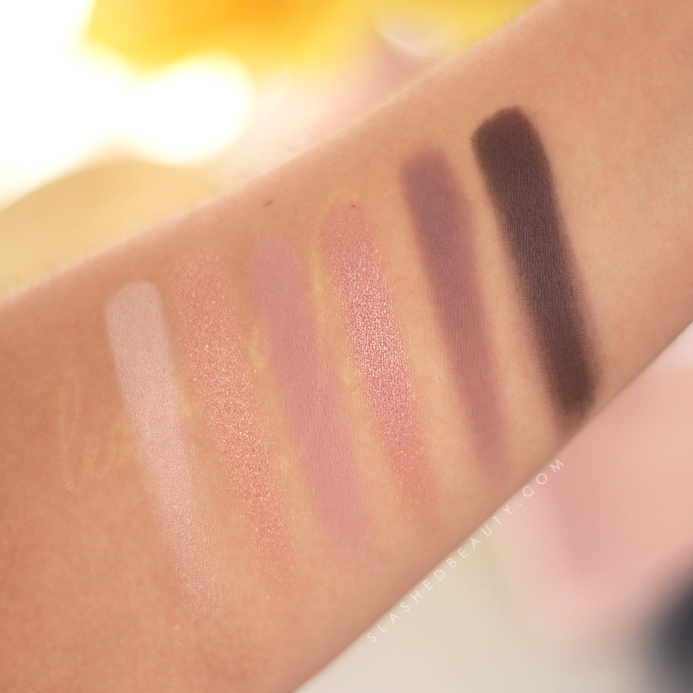 Urban Decay Naked 3 Mini Palette Swatches on Arm | REVIEW: Urban Decay Naked 3 Mini Palette & Swatches | Slashed Beauty