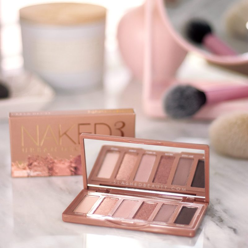NEW Urban Decay Naked 3 Mini Eyeshadow Palette Review