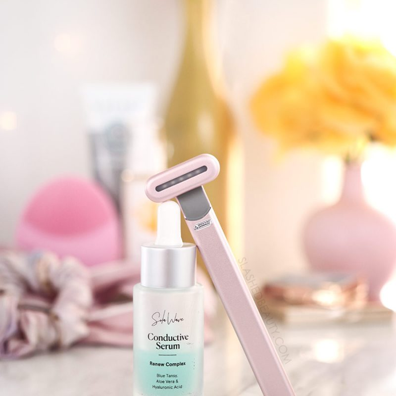 SolaWave Skin Care Wand Review, Before & Afters