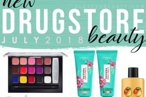 New Drugstore Makeup & Beauty Launches: July 2018